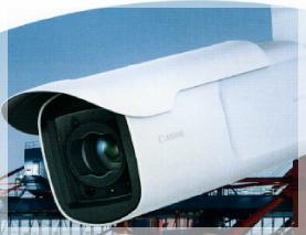 屋外設置型監視カメラ